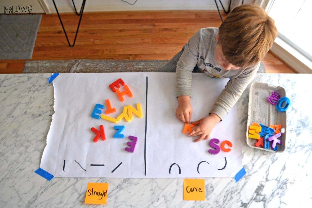 مهارت های سواد آموزی قبل از یادگیری حروف الفبا